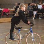 Jüngste Teilnehmerin Romy Wetzel