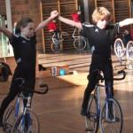 Debüt auf 2 Rädern: Duo Kreider/Bauer