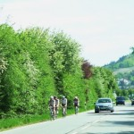 Der Odenwald liegt hinter ihnen
